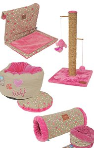 Lief! Set Cat Pink