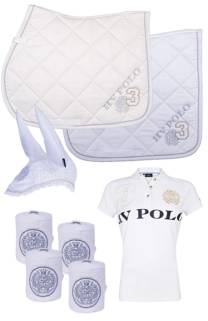 HV Polo Set White