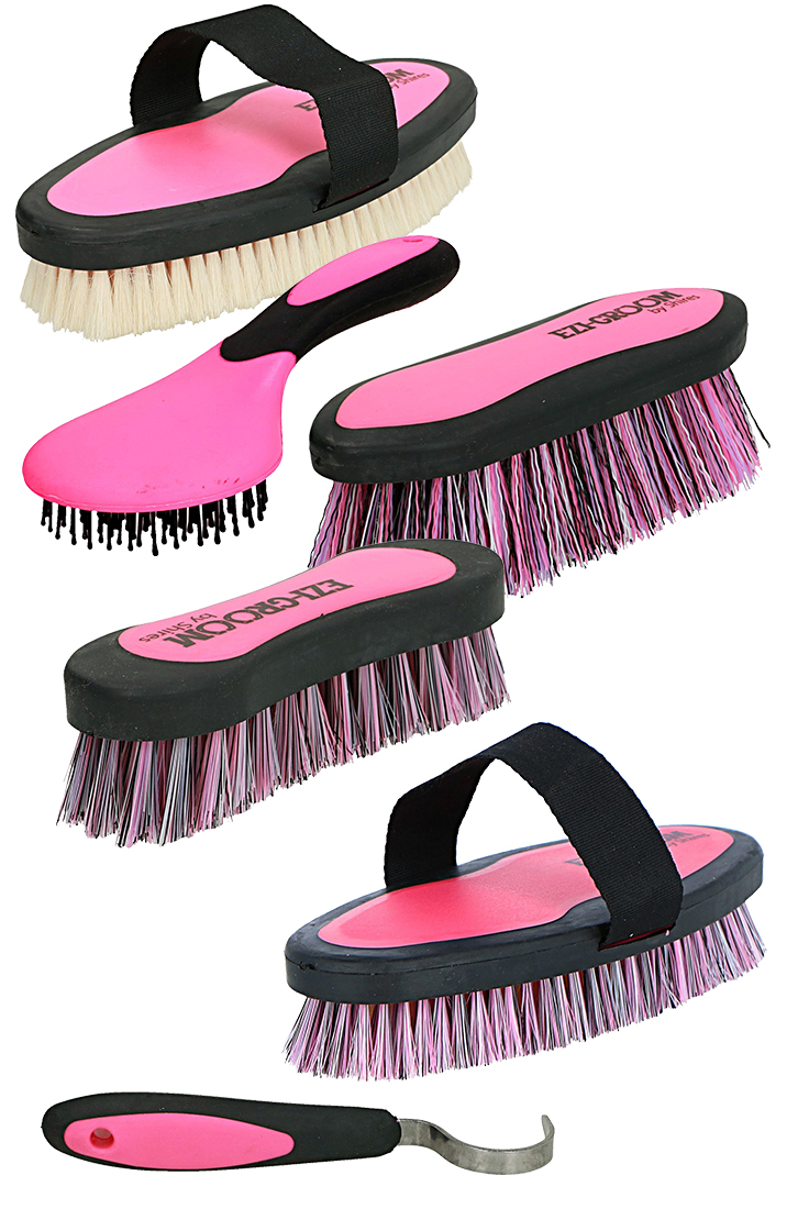 Ezi Groom Set Bright Pink