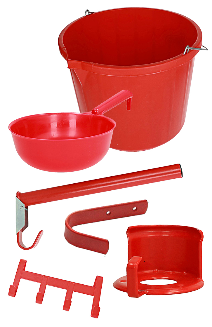 Shires Stable and Tackroom Set Red