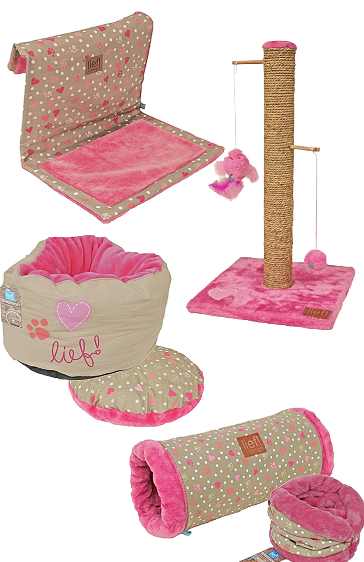 Lief! Set Cat Pink