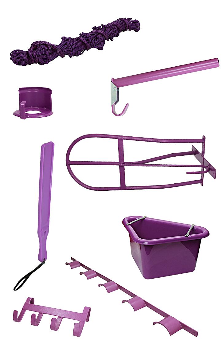 Shires Stable and Tackroom Set Purple